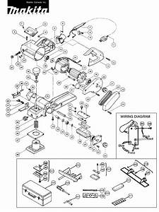 Makita Planer 1100 Mj  User Guide