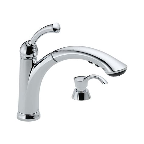 kitchen faucet styles delta lewiston pull out kitchen faucet one handle chrome