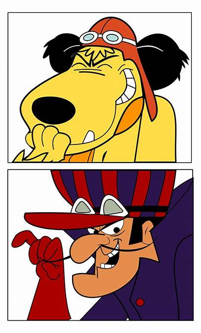 Dick Muttley Cartoons Cartoon Dastardly Clipart Mutley