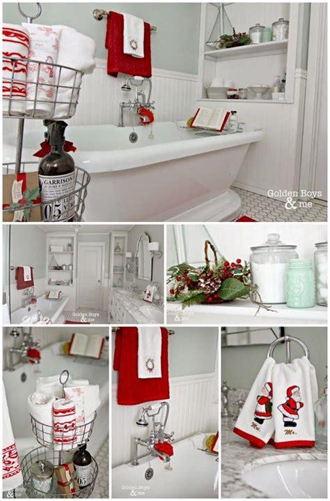 holiday home   diy ideas christmas bathroom