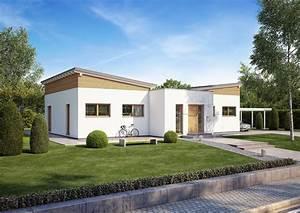 Haus Bungalow Modern : bungalow fokus von kern haus mit schmetterlingsdach ~ Markanthonyermac.com Haus und Dekorationen