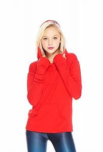 Ramy Brook Size Chart Terez Girls Red Long Sleeve Hooded Top