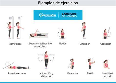 tipos de ejercicios  pacientes