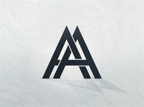 aa logo  anton andersson andrejic  dribbble