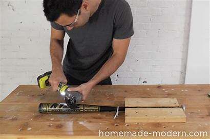 Bat Baseball Homemade Lamp Modern Ep43 Diy