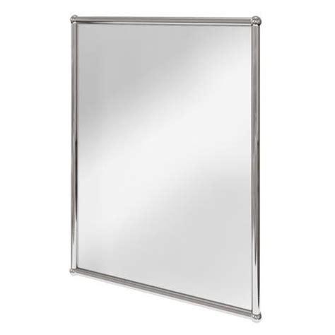 Chrome Framed Bathroom Mirror chrome frame mirror flauminc