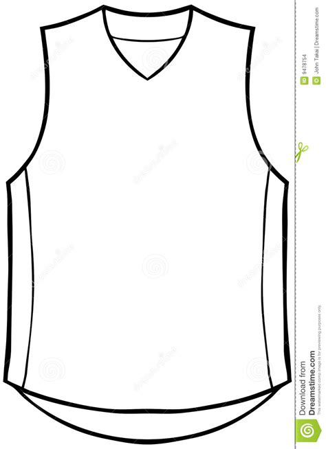 basketball template blank basketball jersey clipart clipartxtras