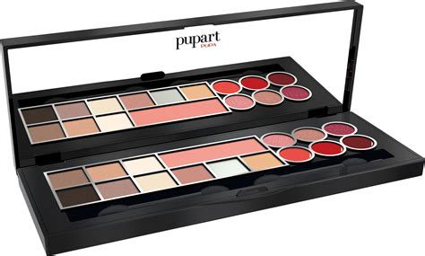 Sariayu Make Up Pallete pupa pupart gold make up palette classic shades