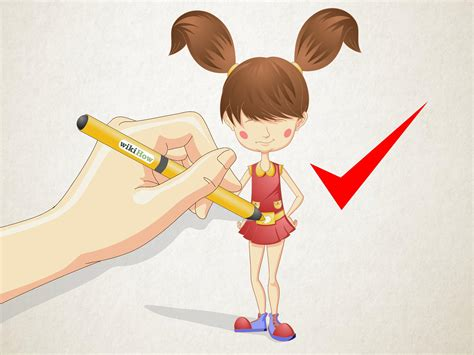 draw  cartoon girl   hair   steps