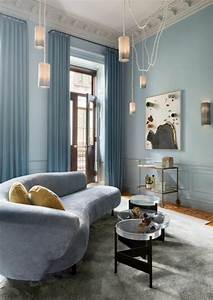 Rideau Bleu Pastel : 1001 id es pour am nager ses espaces en couleur bleu gris les solutions grand effet ~ Teatrodelosmanantiales.com Idées de Décoration
