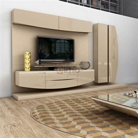 cuisine artisanale composition murale meuble tv design moderne laquée elisa