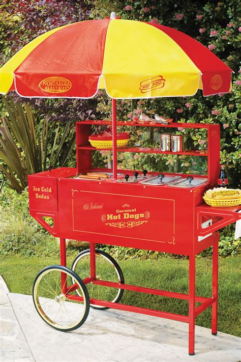 Hdc701 Revised Old Fashioned Carnival Hot Dog Cart
