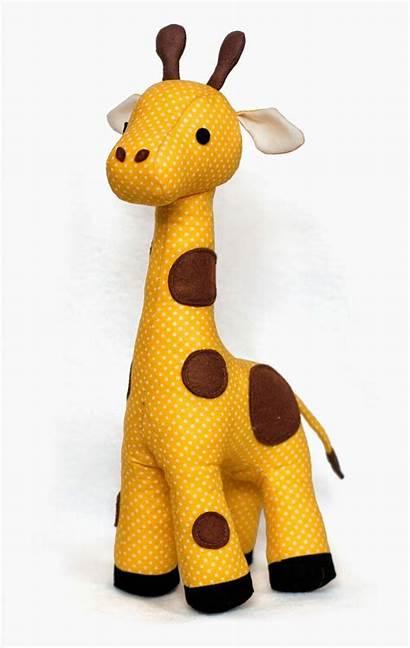 Stuffed Sewing Patterns Pattern Toys Giraffe Animal