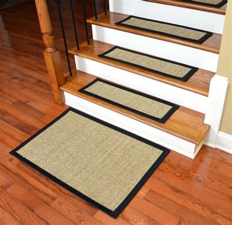 Top 15 Stair Treads for Wooden Stairs   Stair Tread Rugs Ideas