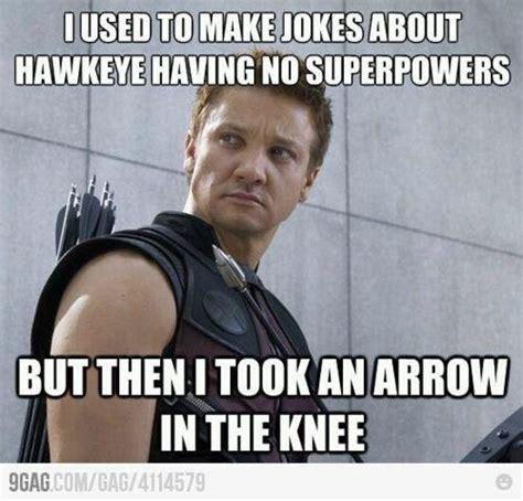 Hawkeye Meme - 78 best images about best avenger jokes on pinterest jar of dirt hawkeye and cap d agde