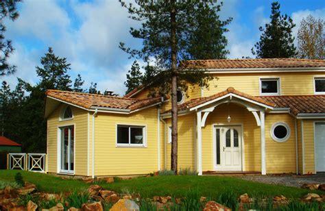 maison en bois vendee vie bois fabricant de maisons 224 ossature bois en vend 233 e la maison bois par maisons bois