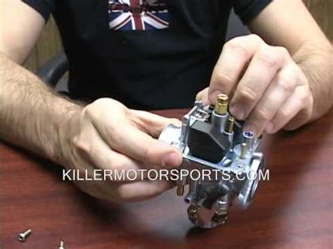 carburetor rebuild cleaning instruction video youtube