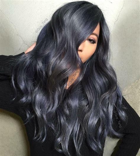 Dark Grey Hair Color Idea 2017 Hair Hair Color For