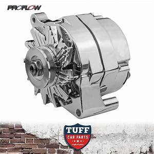 Ford Cleveland V8 302 351 Proflow Chrome Alternator 140