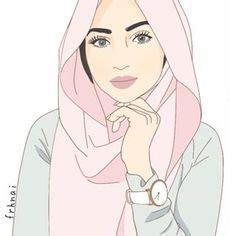 hijab drawing images hijab drawing hijab