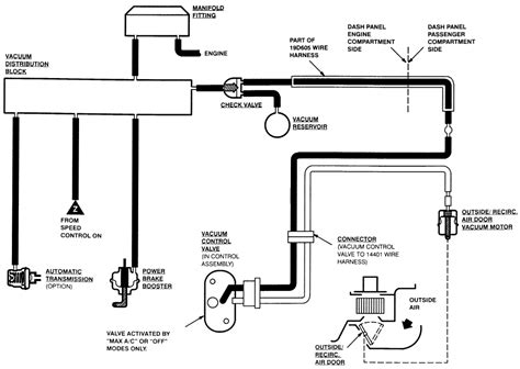4 Wheel Wiring Diagram 1993 Ford Explorer by 1991 Ford Ranger 3 0 A Diagram Of Where The Vacuum Lines Go