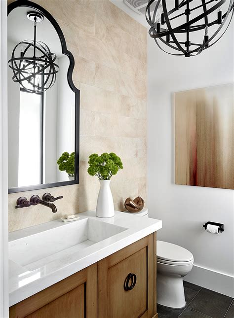 powder room ideas  homes gardens