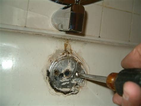 Bathtub Water Stopper Stuck by Replacing A Bathtub Drain Bathtub Drain