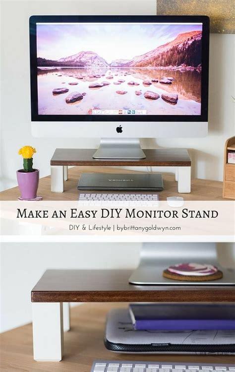 Diy Desk Cpu Holder by Best 20 Monitor Ideas On