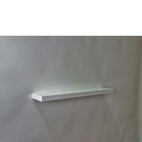 white floating shelf gloss white floating shelf 800x150x38mm mastershelf