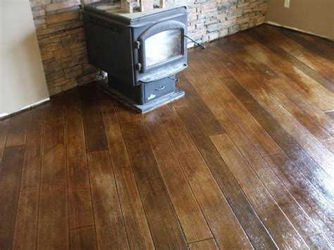 Stained & Stamped Concrete: Transform Your Home   Van De