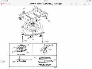 1994 F-150 Xlt Spare Tire Holder