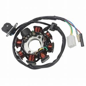 Xzilla Ignition Stator Magneto 8 Coil 5 Wires Gy6 50cc