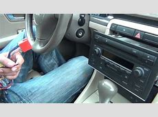 GTA Car Kits Audi A4 20022005 install of iPhone, iPod