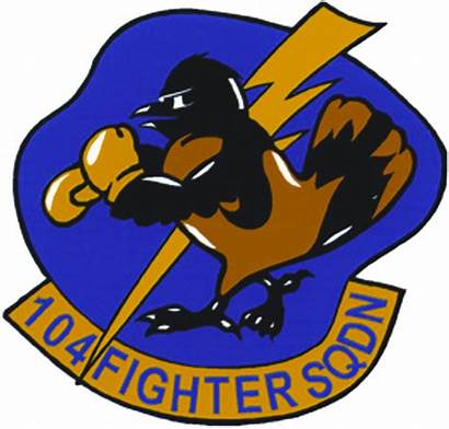 Squadron Fighter 104th Insignia Emblem Military Guard