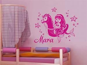 Wandtattoo Unterwasserwelt Kinderzimmer : wandtattoo meerjungfrau mit wunschname wandtattoo de ~ Sanjose-hotels-ca.com Haus und Dekorationen