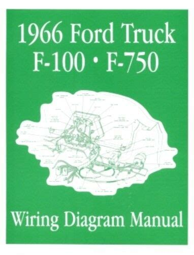 Ford Truck Wiring Diagram Manual Ebay