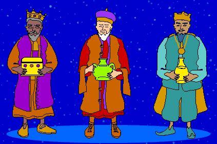 BAÚL DE NAVIDAD: Gifs animados Los Reyes Magos de Oriente
