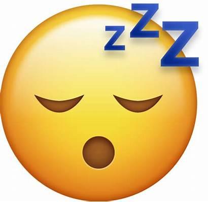 Emoji Sleeping Sleepy Iphone Ios Emojis Icons