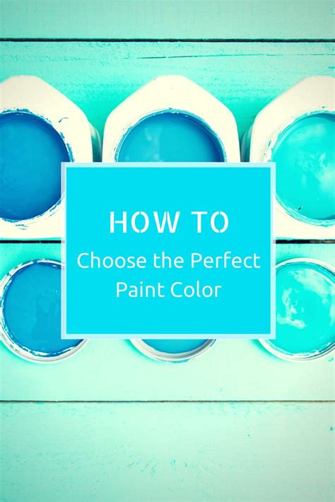 expert tips for choosing the paint color paint