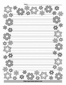 christmas writing paper with decorative borders With decorative letter writing paper