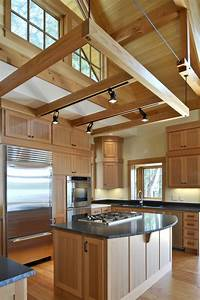 Wood floors to rafters style from top bottom