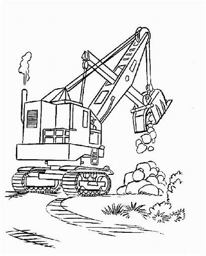 Coloring Pages Printable Construction Constructions