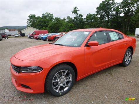 2017 Dodge Charger SXT AWD in Go Mango   635352   All