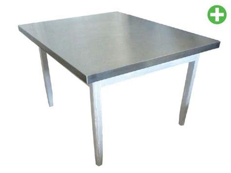 cuisine inox plateau de table inox
