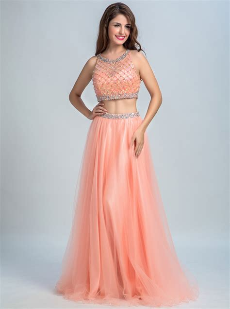 Two Pieces By Domiadream two prom dresses 2 prom gowns dresstells
