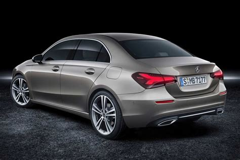 the all new 2019 mercedes benz a class sedan revealed