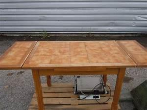 A Vendre Ancienne Table Cuisine Bois Tables Chaises De