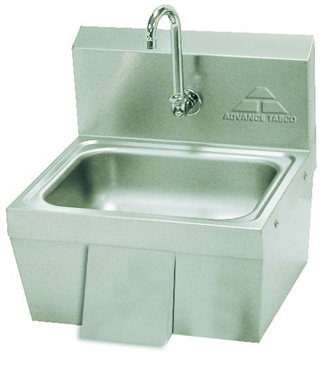 advance tabco free sink advance tabco 7 ps 44 free knee operated sink