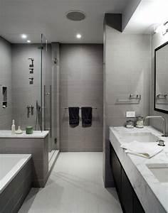 amenager une petite salle de bain en longueur maison With amenager une petite salle de bain en longueur