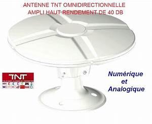 Antenne Pour Tnt : antenne tnt tonna 40db pour camping car caravane ~ Premium-room.com Idées de Décoration